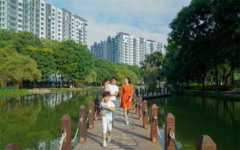 Nhu cầu tận hưởng 'sống chậm' với căn hộ nghỉ dưỡng tại gia
