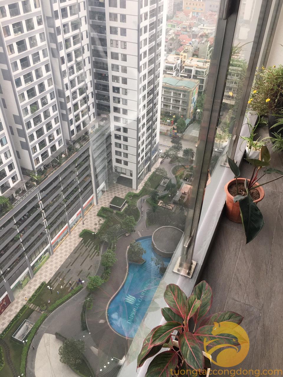 Bán căn hộ 100m2 view nội khu thoáng mát chung cư Imperia Garden