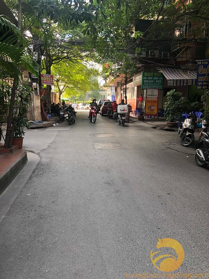 Bán nhà Trần Quang Diệu Thái Hà, ô tô kinh doanh, 70m2 x 5T