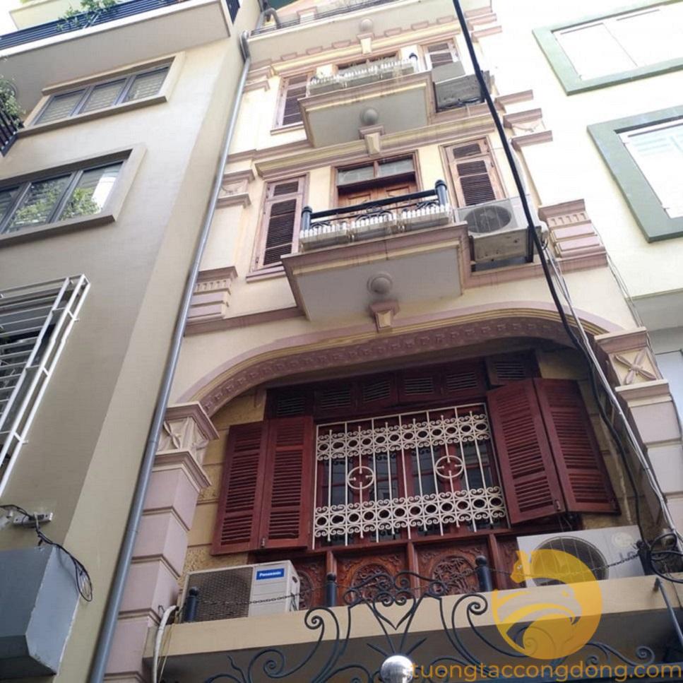 Ngõ rộng Hào Nam, ô tô qua nhà, 48 * 5 tầng, mặt tiền 4, 2 thoáng.