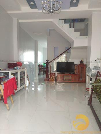 Bán nhà 80m2 mặt tiền 1 trệt 1 lầu thuộc phường An Hòa hướng Tây Bắc