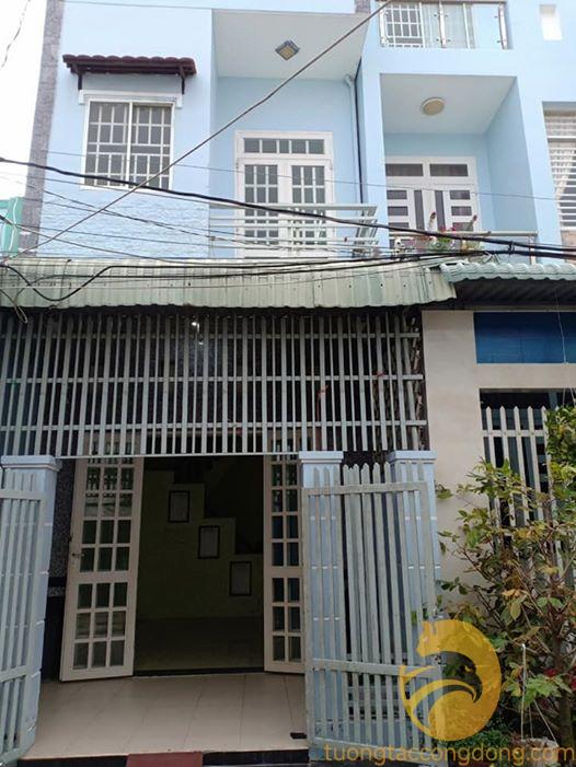 Nhà bán Trệt lầu Đường vào Công An quận Ninh Kiều, P. An Hòa Giá Tốt