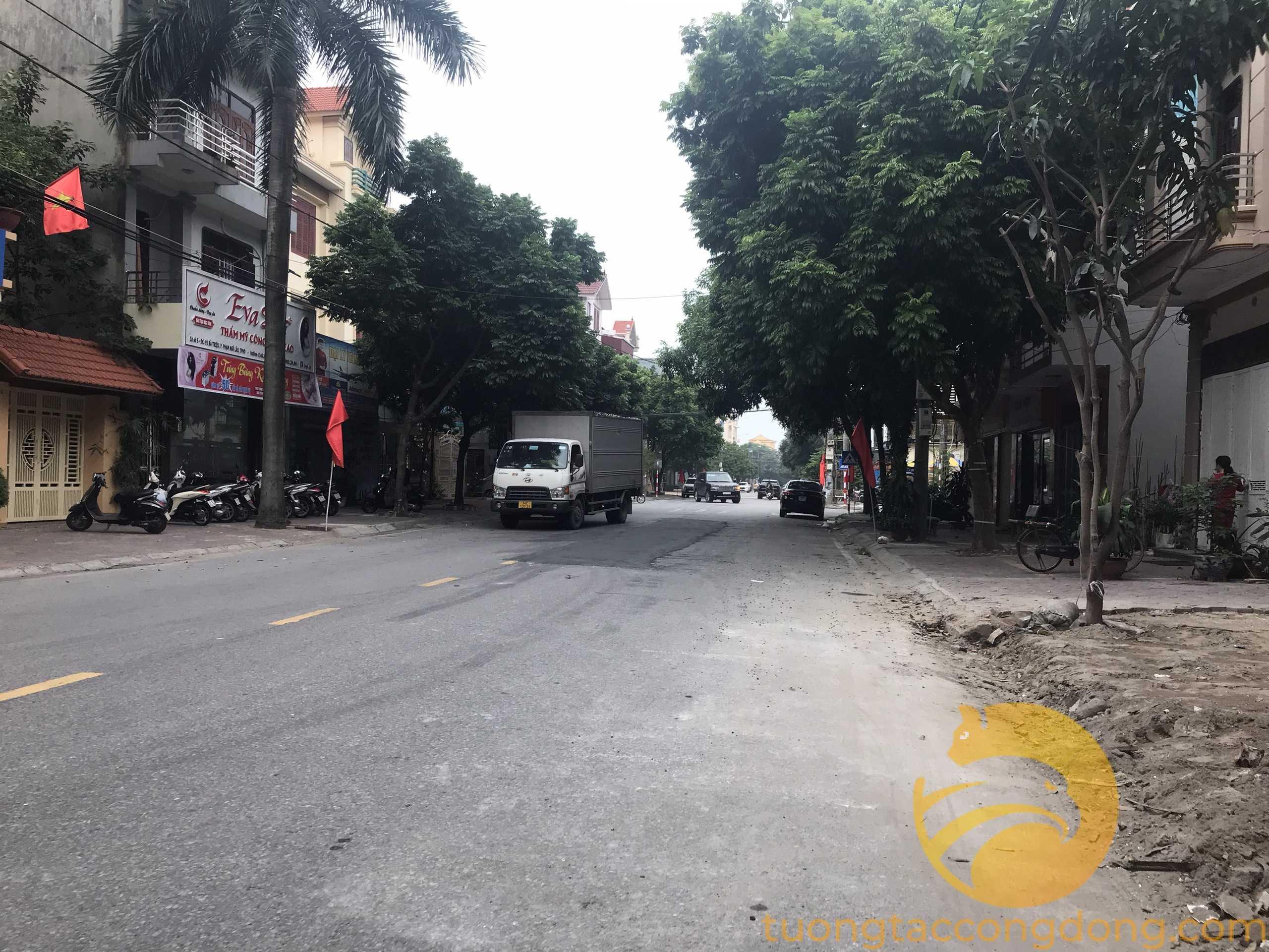 Bán đất mặt phố Bà Triệu, TP Hải Dương 108m2, chỉ 4 tỷ 752 triệu, mt