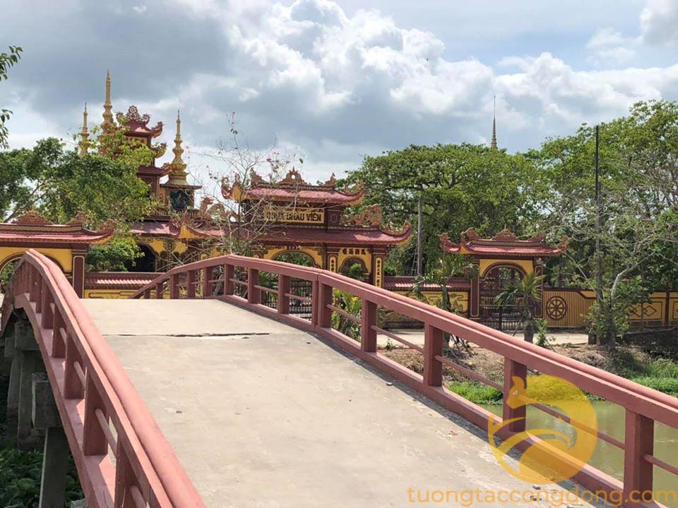 Cần ra đi lô nền đối diện chùa Châu Viên, Vĩnh Lợi