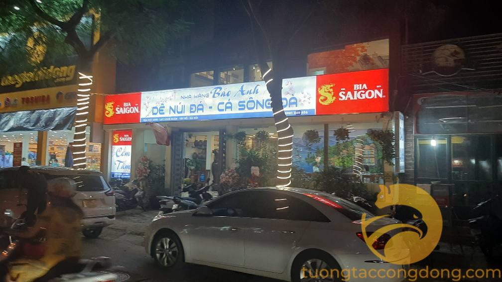Bán mặt phố Lạc Long Quân 188m2; mặt tiền 11m; giá 58 tỷ